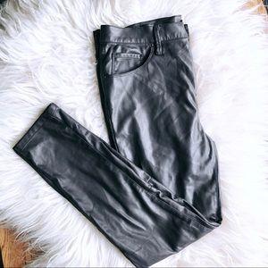 Vegan Leather Pants!